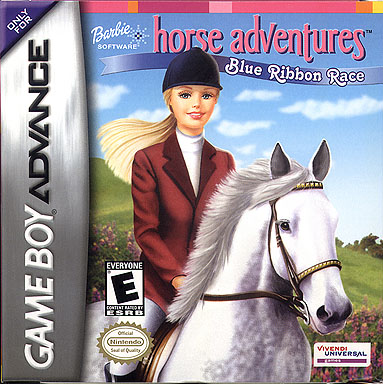 Barbie Horse Adventures - Blue Ribbon Race  - Box