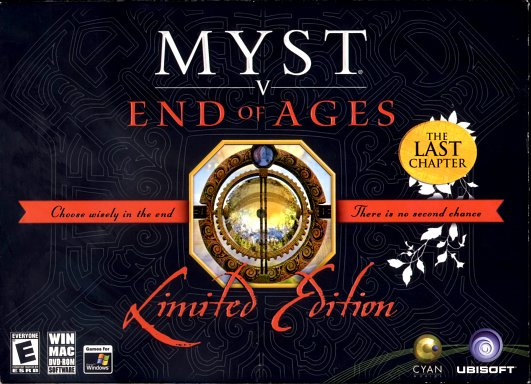 Myst V End of Ages (Limited Edition)  - Box