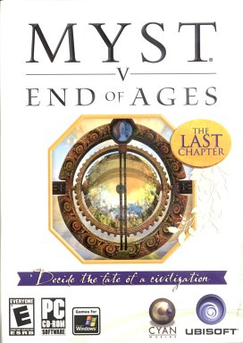 Myst V End of Ages  - Box