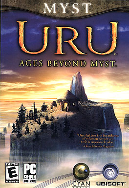 URU  Ages Beyond Myst - Box