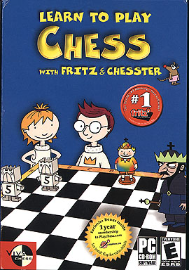 Learn to Play Chess with Fritz and Chesster  - Box