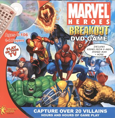 Marvel Heroes Breakout DVD Game  - Review