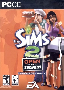 Sims2 Open for Business -- Expansion Pack  - Review